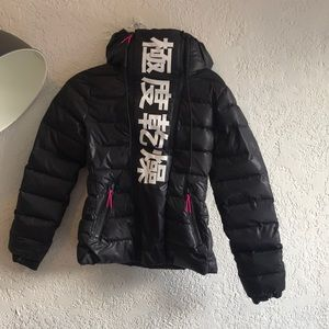 NWOT SuperDry Sport Elite Project Puffer Jacket